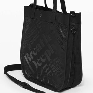 Lululemon Now and Always Tote *15L NWT Black